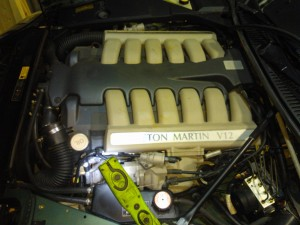Aston Martin DB7 Vantage V12, remapped and serviced