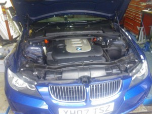 BMW 325D DPF Removal & Remap, serviced. PVE, Chard, Somerset