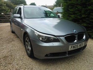 BMW 525D, DPF Removal.