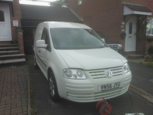 Caddy Remap, +30Bhp & 60NM. Instant smiles!