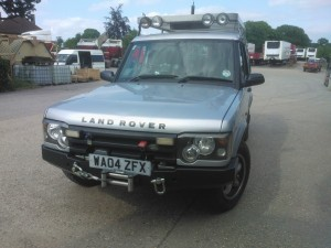 Landrover Disco TD5, a nice bit of extra torque & power required for off roading.  +30Bhp & 45NM!
