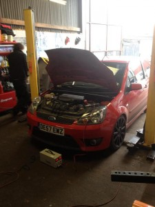 Fiesta ST Remapped. Lovely little car this one.
