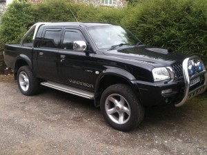 L200 Warrior, beast of a thing! Remapped.
