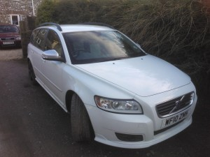 Lush Volvo V50 fully serviced and had it's first MOT, next on the list is a nice remap!