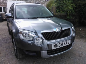 Skoda Yeti 2.0Tdi 4x4. DPF Removal & Remap. We also had to arrange it's first MOT. Our customer was quoted over £2k and a two week waiting list from Skoda.