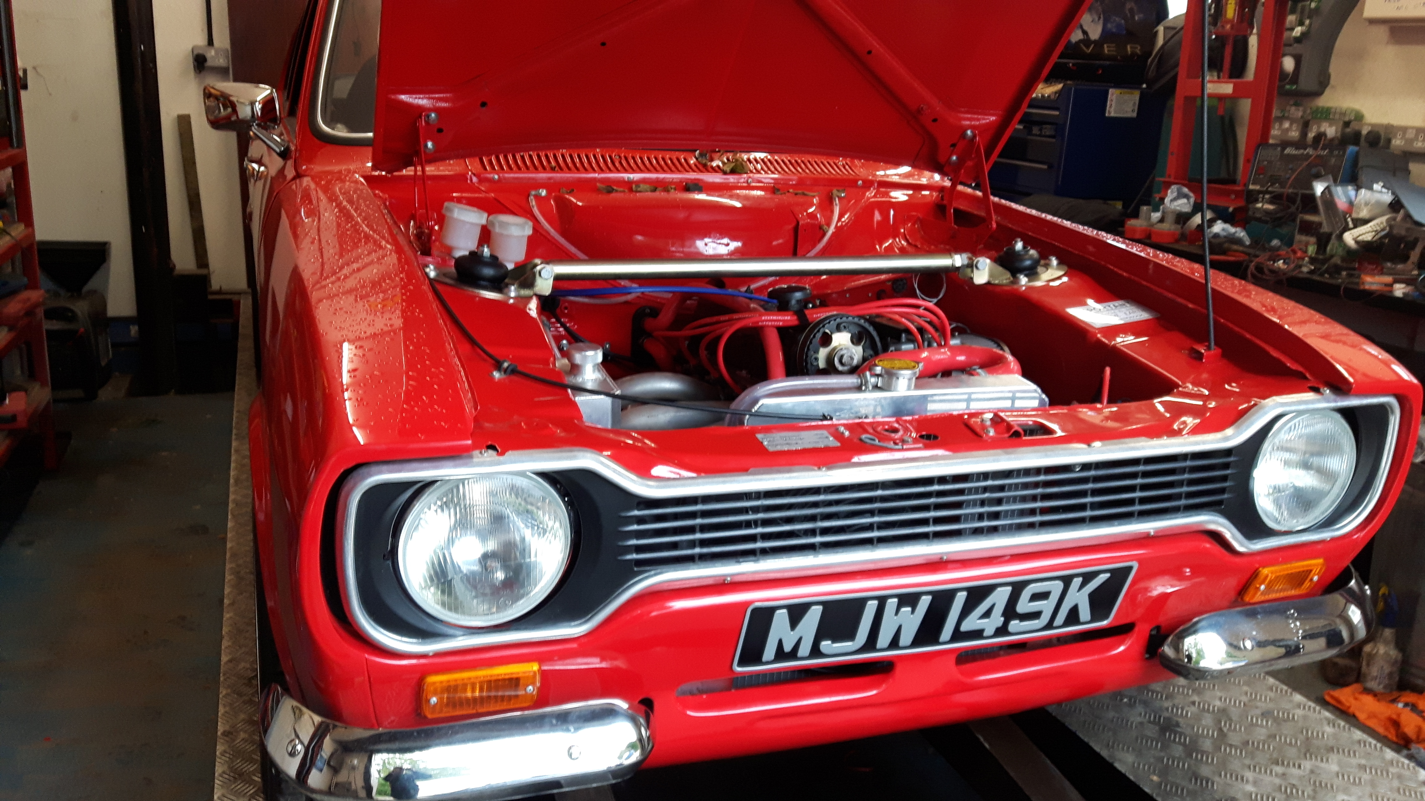 Mk1 Escort Wiring Loom Upgrades Ford Pinto Harness Rebuild