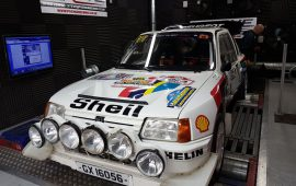 Peugeot 205 T16 In for mapping on Pectel