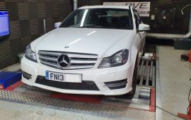 Mercedes C250 AMG Rolling Road Custom Remap