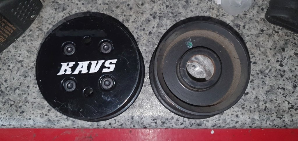 Kavs 10 percent pulley