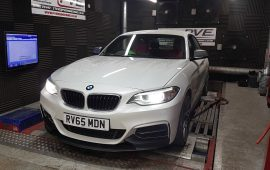 BMW 235i rolling road remap