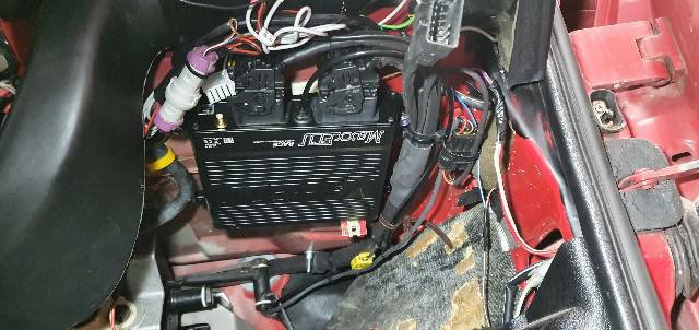 MaxxECU Race installed in 10V UR Quattro