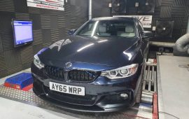 BMW 430D Rolling Road Remap