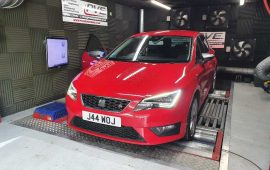 Seat Leon TDi 184ps FR rolling road remap
