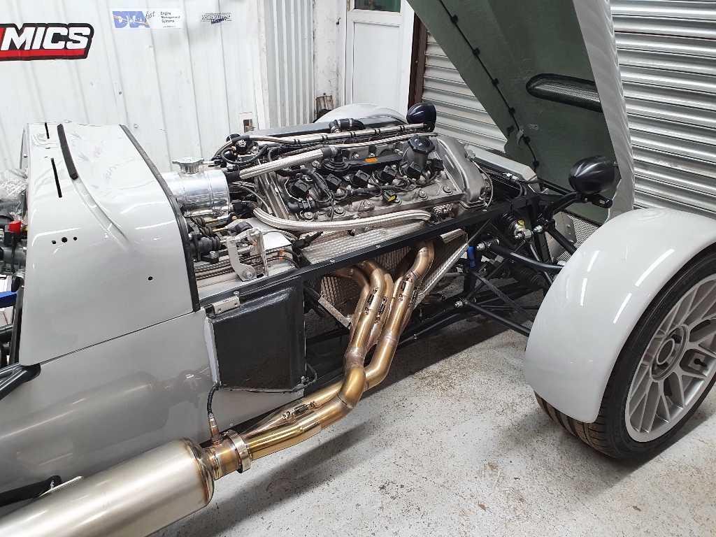 S54 engine running MAXXECU RACE