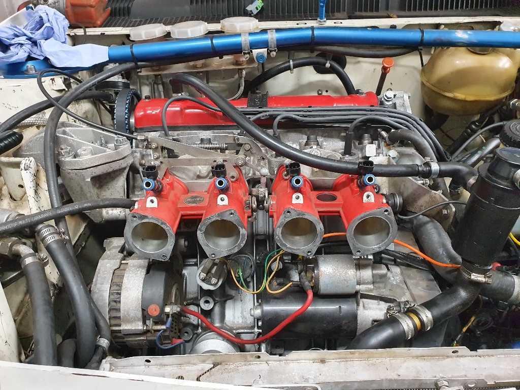 Jenvey Throttle Bodies 205 GTi MaxxECU
