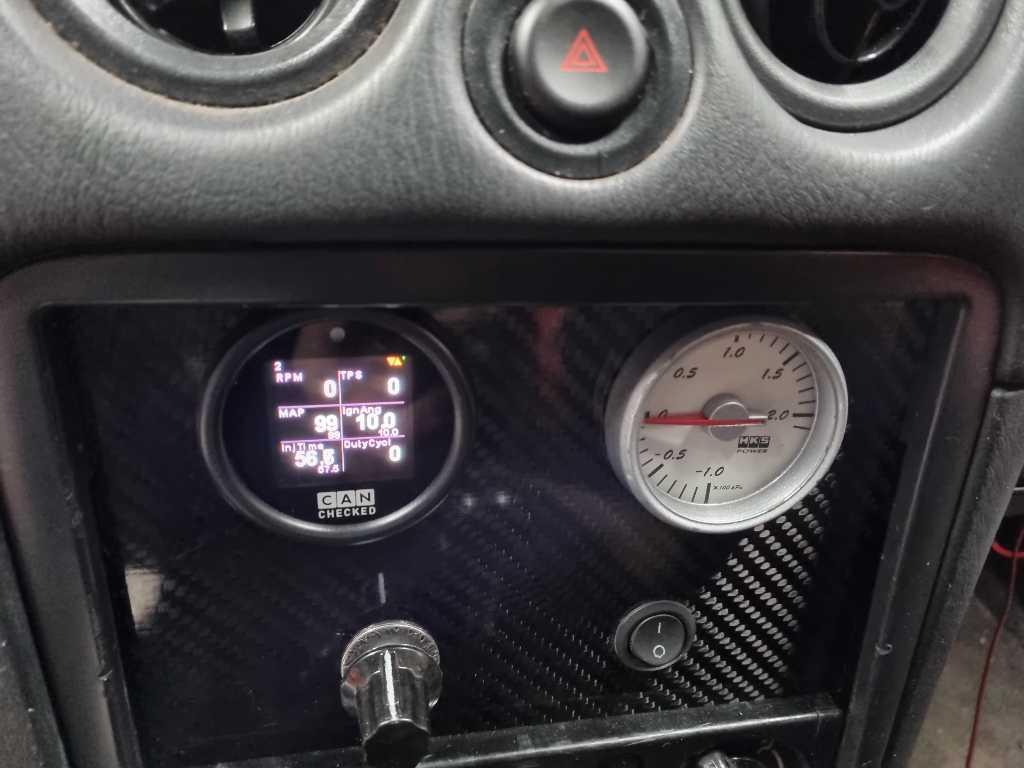 MX-5 Miata Mazda MaxxECU VVT Tuningshed CANChecked